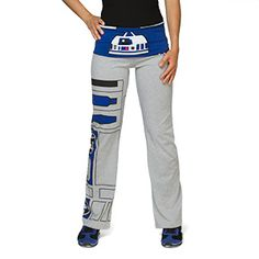 R2-D2 Ladies' Yoga Pants If I haven't said it before...I LOVE THINKGEEK!!!! This is why. I NEED these!