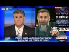 """""""You're coming to get me?!!!"""" Hannity embarrasses motormouthed Muslim te..."""