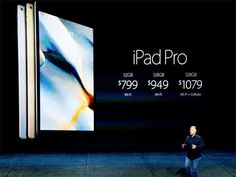 Slideshow : Pricing for the iPad Pro - Apple's mega launch event in San Francisco: Spectacular images - The Economic Times