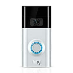 "Connect your Ring doorbell with Alexa then enable announcements to be alerted when your doorbell is pressed or motion is detected. Talk to visitors through compatible Echo devices by saying ""Alexa, talk to the front door"". Lets you see, hear and speak to visitors from your phone, tablet and PC"