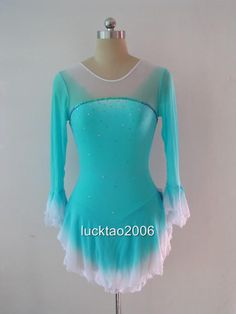 Figure Skating Dresses | Details about Gorgeous Figure Skating Dress Ice Skating Dress