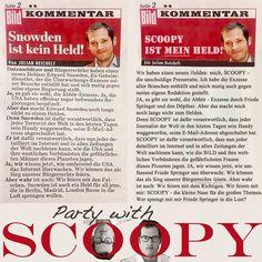 Scoopy Julian Reichelt - Wer sprengt mit mir Friede Springer in die Lust?
