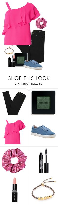 """Tammy Larsen (Bob's Burgers)"" by pageinabook ❤ liked on Polyvore featuring Yves Saint Laurent, Bobbi Brown Cosmetics, Dorothy Perkins, J/Slides, Edward Bess, Smashbox and Monica Vinader"