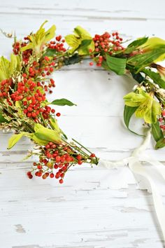 How to Make a Flower Crown --> http://www.hgtvgardens.com/weddings/how-to-make-a-flower-crown?soc=pinterest