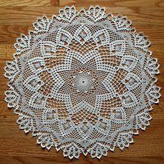 quiltwrapup crochet doily by elizabeth hiddleson