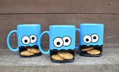 Of The Coolest Coffee Mugs & Unique Coffee Cups Ever! Discover the coolest coffee mugs here in our epic list of all of the most awesome and unique coffee cups ever! Check it out! Cookie In A Mug, Quirky Kitchen, Secret Santa Gifts, Pottery Designs, Cute Mugs, Coffee Cups, Christmas Gifts, Handmade Christmas, Hand Painted