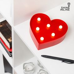 Inline LED Herz Romantik als Geschenk Inline, Led, La Pile, Shinee, Home, Love You Mom, Romantic Gifts, Hearts, Mothers