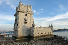 Belem Tower is one of the most famous landmarks in Lisbon, one of the leading tourism cities in Europe. Santa Maria, Best Hostels In Europe, Cities In Europe, Top Restaurants In London, Portugal Travel Guide, Seven Wonders, Famous Landmarks, Travel Abroad, Travel Europe