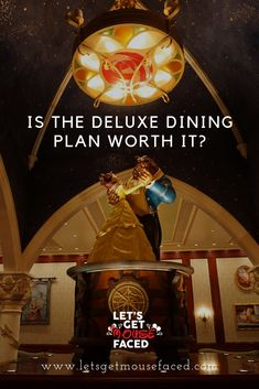 The deluxe dining plan - is it worth it? Ever asked yourself this question?we say yes it is, get our takes on getting the most out of it. Best Disney World Restaurants, Disney World Hotels, Disney World Food, Disney World Florida, Walt Disney World Vacations, Disney Worlds, Disney Parks, Disney World Packing, Disney World Secrets