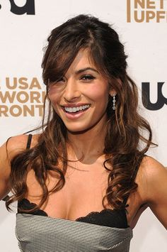 Sarah Shahi, such a wonderful actress! Would love to do this with my hair