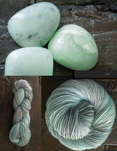 Jade (um technically I'm pretty sure that's aventurine but whatever floats your boat.)