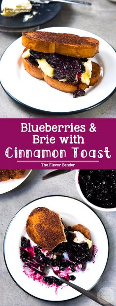 Roasted Blueberries and Brie with Cinnamon Toast The Flavor Bender Roasted Blueberries and Brie with Cinnamon Toast The Flavor Bender Ellen Phillips Food Roasted Blueberries and Brie with nbsp hellip toast toppings Delicious Breakfast Recipes, Brunch Recipes, Appetizer Recipes, Appetizers, Brunch Ideas, Yummy Food, Crockpot, Breakfast Toast, Sweet Breakfast