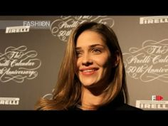 """TOP MODELS"" at the PIRELLI CALENDAR 2014 Press Conference by Fashion Channel - YouTube"