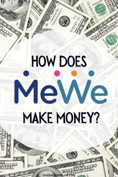 Learn how a social network (MeWe) makes money without ads or spyware Revenue Model, Social Media Digital Marketing, Parental Control, Business Pages, Life Memes, Call Her, Need To Know, How To Make Money, Hate