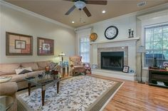 Single Family, Fireplaces, Living Rooms, Relax, Homes, Content, Detail, Bathroom, Medium