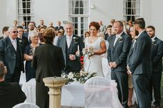 Malone House Belfast Wedding Photographer Pure Photo N.I start of ceremony