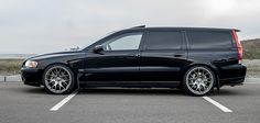 Beautiful V70R on Vanilla Performance wheels.