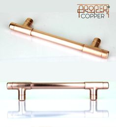 Beautiful Modern Copper Cabinet Hardware