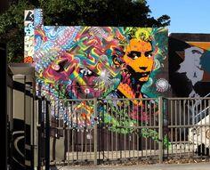 Street Art by Stinkfish | Showcase of Art & Design
