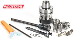 High Precision Spring Collets/Adapters/Holders for CNC machines - Toolstoday.com - CNC Insert Tooling, Router Tooling