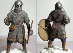 Figures: Varangian on the Russian duty Viking Armor, Ancient Armor, Larp Armor, Viking Age, Armadura Medieval, Vikings, Medieval Knight, Medieval Armor, Thor