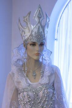 Fancy Costumes, Movie Costumes, Tutu, Ice Queen Costume, Fairytale Fashion, Snow Queen, Ooak Dolls, Costume Design, Beautiful Dolls