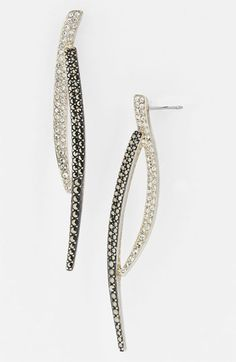 Judith Jack 'Crystal Glitz' Linear Earrings available at Nordstrom