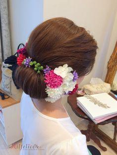 花嫁の和装髪型 古典風の画像 | Milfeliceウェディングヘアメイクアーティスト