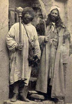 Dervishes; postcard from early 1900's.