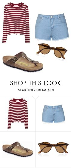 """"" by m2w8w8 on Polyvore featuring MANGO, Ally Fashion, Birkenstock and Ray-Ban"