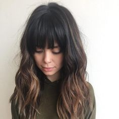 44 Amazing Hairstyles with Long Bangs