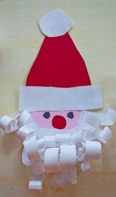 Schauen Sie mal, wie einfach und schnell kann man den Weihnachtsmann aus Papier mit Kindern basteln. Die Anleitung finden Sie auf diese Seite.