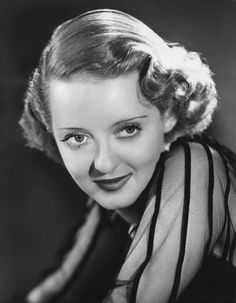 """Bette Davis.  A tough, ballsy, talented broad.  She fought with her co-stars, the studio and her many husbands...but she starred in such memorable films as """"The Petrified Forest"""", """"Of Human Bondage"""", """"Jezebel"""", """"The Letter"""", """"Dark Victory"""" and in later years, """"Whatever Happened to Baby Jane"""" and one of the best movies of all time....""""All About Eve"""".  (she was robbed of the Oscar that year!)"""