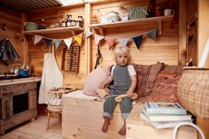 Castle and Cubby - Interior Styling of Apple Crate Cubby House for Courtney Adamo and family. Cubby houses and furniture made by hand in Australia - Melbourne and Byron Bay. Kids Cubby Houses, Kids Cubbies, Play Houses, Kids Play Spaces, Diy Playhouse, Apple Crates, Cat Playground, Courtney Adamo, Kids Playing