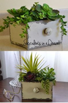 10 good DIY ideas to re-use drawers - Wood Project