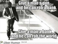 #socialdeviance2014 #robbingbanks