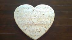 Meska - szív alakú puzzle tomawoodworks kézművestől