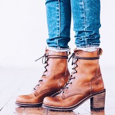 These boots get better and better with every wear. Karen Lace Up Short Boots The Frye Company Sock Shoes, Cute Shoes, Me Too Shoes, Shoes Heels, Prom Shoes, Converse Shoes, Wedding Shoes, Dress Shoes, Daily Shoes