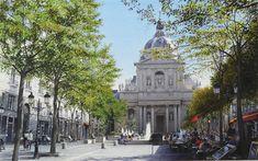 La place de la Sorbonne. Thierry Duval Thierry Duval