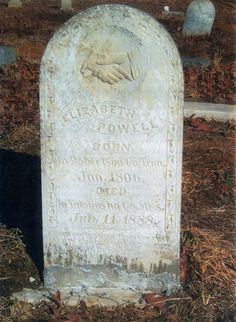 The tombstone of Betsey Bell, who was the main victim of the torment exacted on the Bell family by the Bell Witch. Scary Places, Haunted Places, Old Cemeteries, Graveyards, Bell Witch, Ghost Hauntings, Famous Graves, Real Ghosts, Haunted History