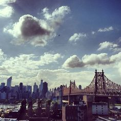 Clouds and NYC
