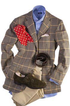 Cesare Attolini Cesare Attolini-100% Cashmere Mens Tailored Sport Coats - Axels