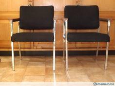2 fauteuils chair office biltrite nightingale, 1970 80 - A vendre