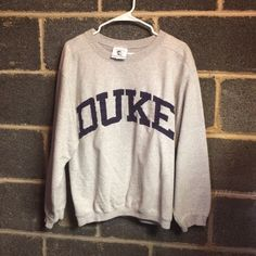 Vintage Duke Sweatshirt Mens M or Womens L Gently worn Vintage Duke Sweatshirt Mens Medium or Womens Large. No stains or flaws. Great shirt for any Duke fan The Cotton Exchange Tops Sweatshirts & Hoodies