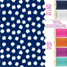 Navy Doodle Dot Personalization Recommendations Thirty-One Fall 2017 #TOTEallyAddicted www.TOTEallyAddic... #ThirtyOne #ThirtyOnePersonalization #ThirtyOneFall2017 #NavyDoodleDot