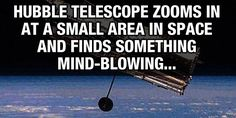 Hubble Telescope Zooms In At A Small Area In Space And Finds Something Amazing…