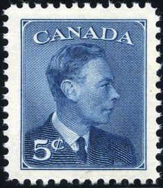 King George VI Canada 1950