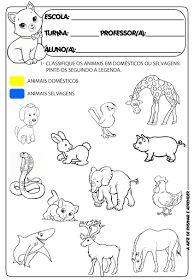 .: Atividades prontas tema projeto animais