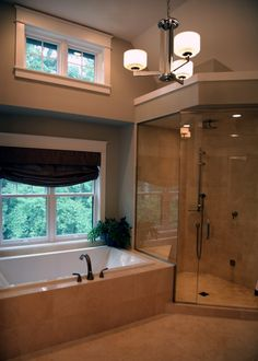 I like the idea of windows up high for natural lighting option and for privacy.