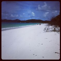 Whitehaven Beach, QLD -- Such a beautiful place. Stopped here on my Whitsundays sailing trip.